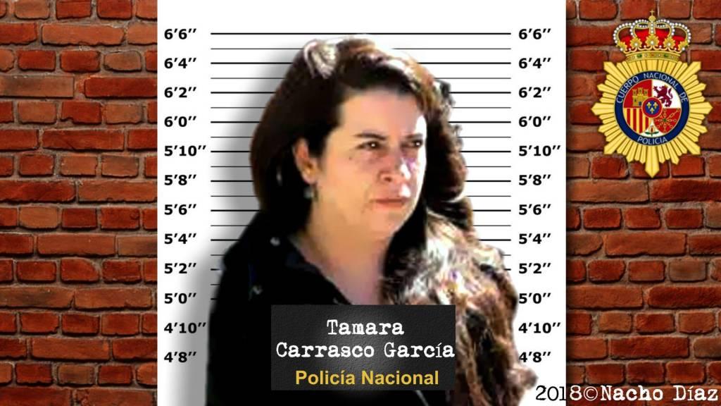 Recreación ficha Tamara Carrasco
