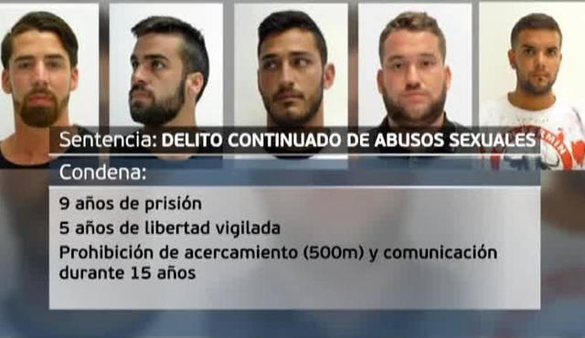 Sentencia Judicial a La Manada