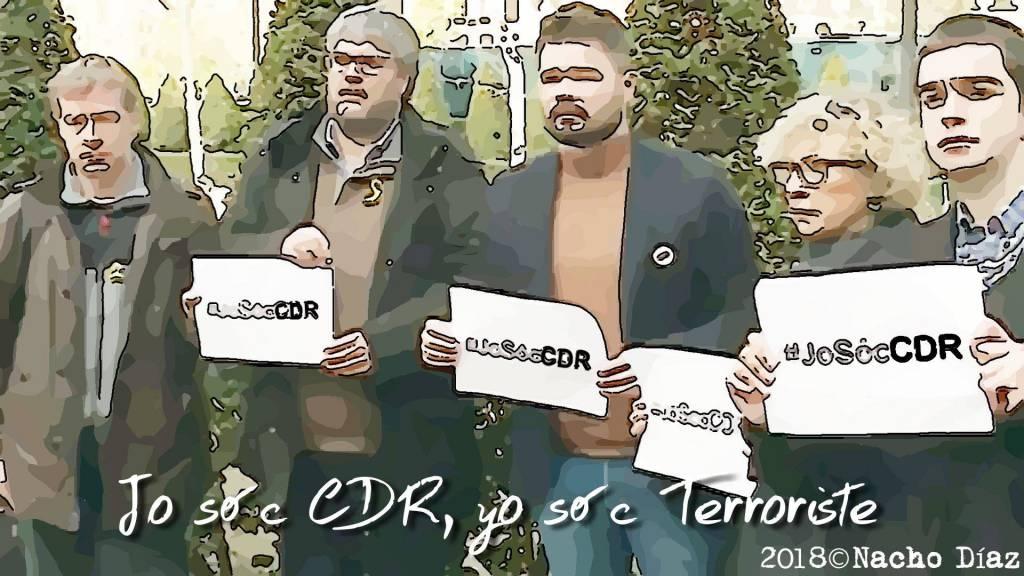 #JoSócCDR-Yo soy Terrorista
