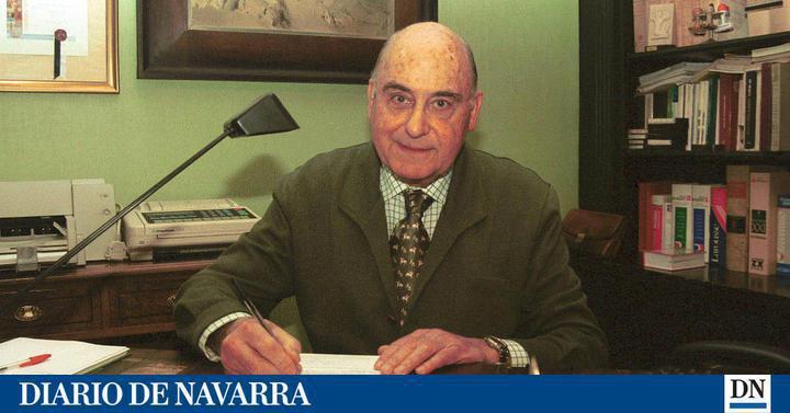 El exalcalde de Pamplona, abogado, economista y diplomado por la Universidad de La Sorbona,, Juan Miguel Arrieta Valentín