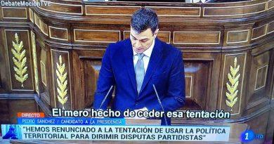Con Bildu, con PNV, con ErC, con PdCat, con Podemos ...