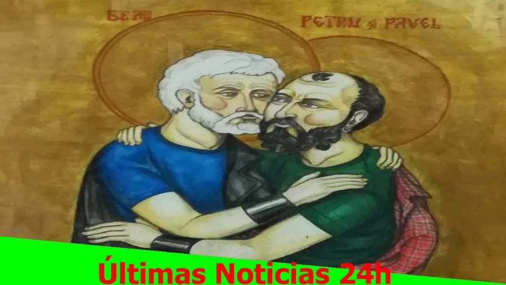 Denuncian a las Juntas de Bizkaia por unos cuadros de arte gay considerados ofensivos para los católicos