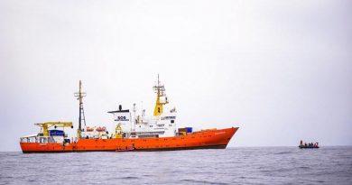 El barco 'Aquarius' de la ONG francesa SOS Méditerranée en una foto de archivo
