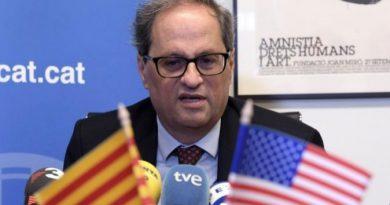 El presidente de la Generalitat de Cataluña, Joaquim Torra,