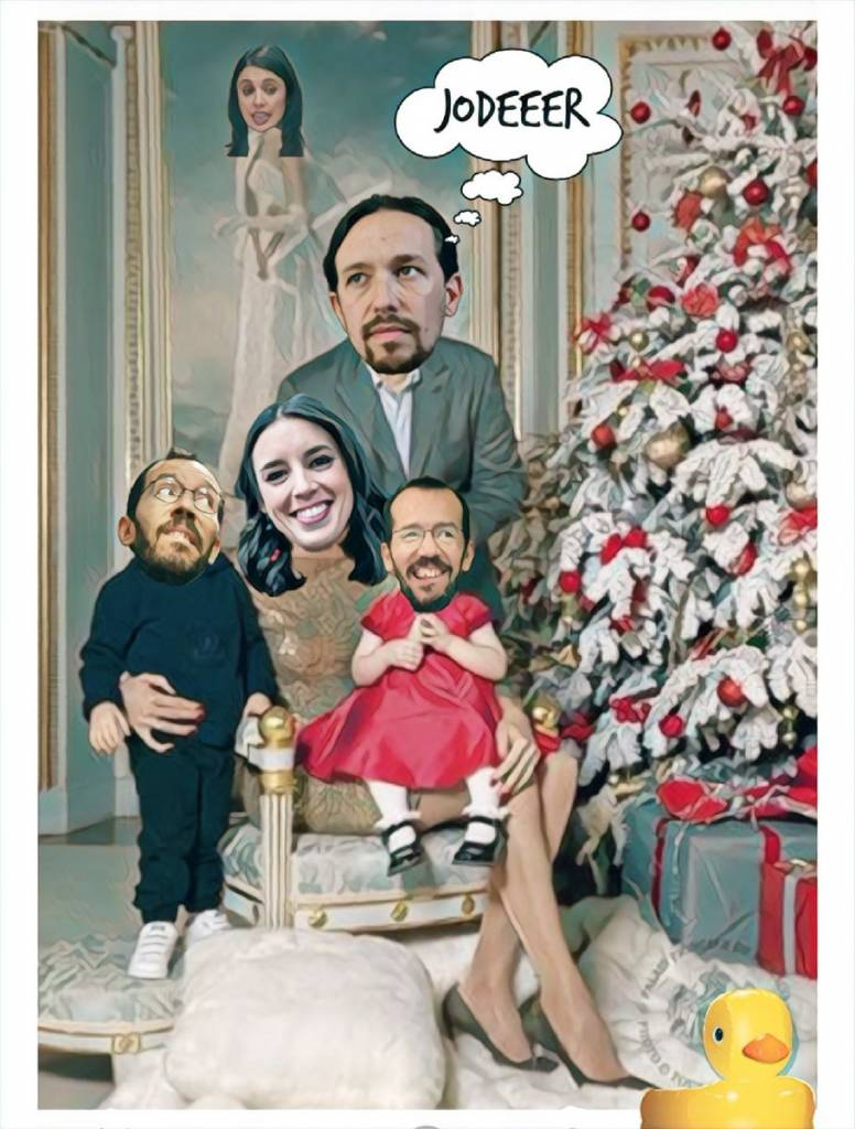 Este año la felicitación navideña de PabLenin será diferente. Linda Galmor