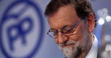 Mariano Rajoy, este lunes ante la Junta Directiva Nacional del PP. Foto EFE