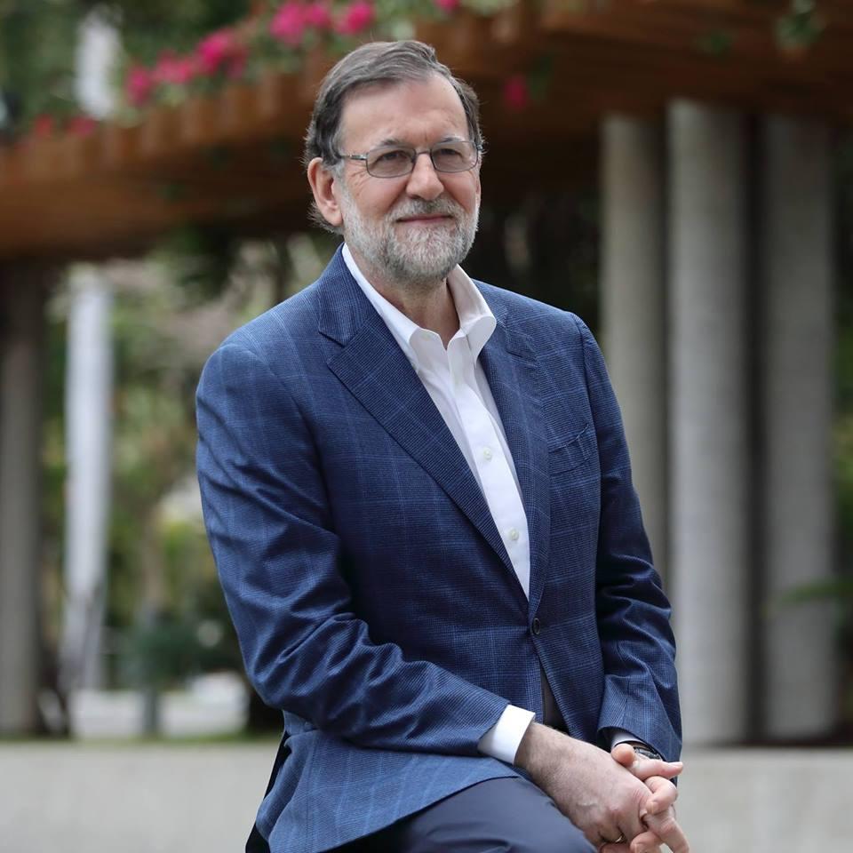 Mariano Rajoy estrena foto en Facebook