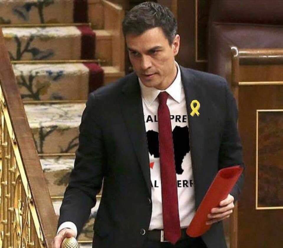 Podemos, PDeCAT, EH Bildu, ERC y Compromís presentan vetos a los Presupuestos Generales del Estado. El buen rollito ha durado menos que la república catalana.
