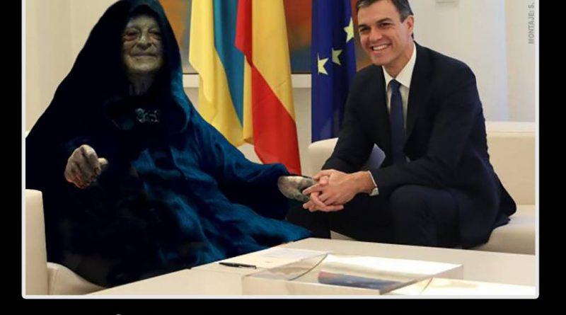 Sánchez se reúne en secreto en Moncloa con George Soros. Santi Orue