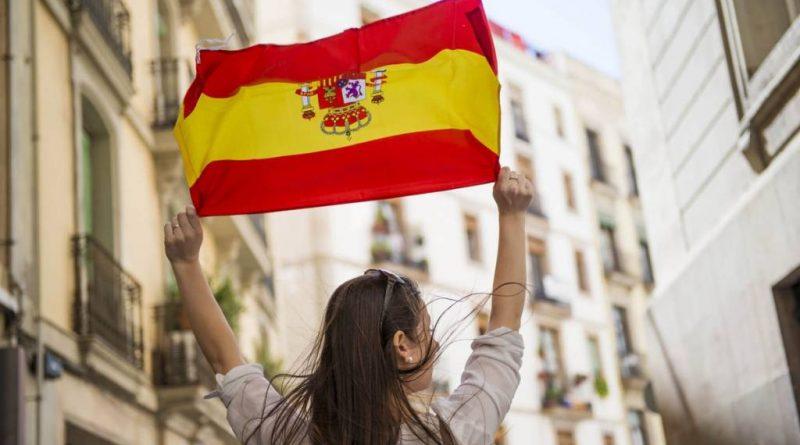 Ya no hay miedo ni complejos España ,mi país es un gran país
