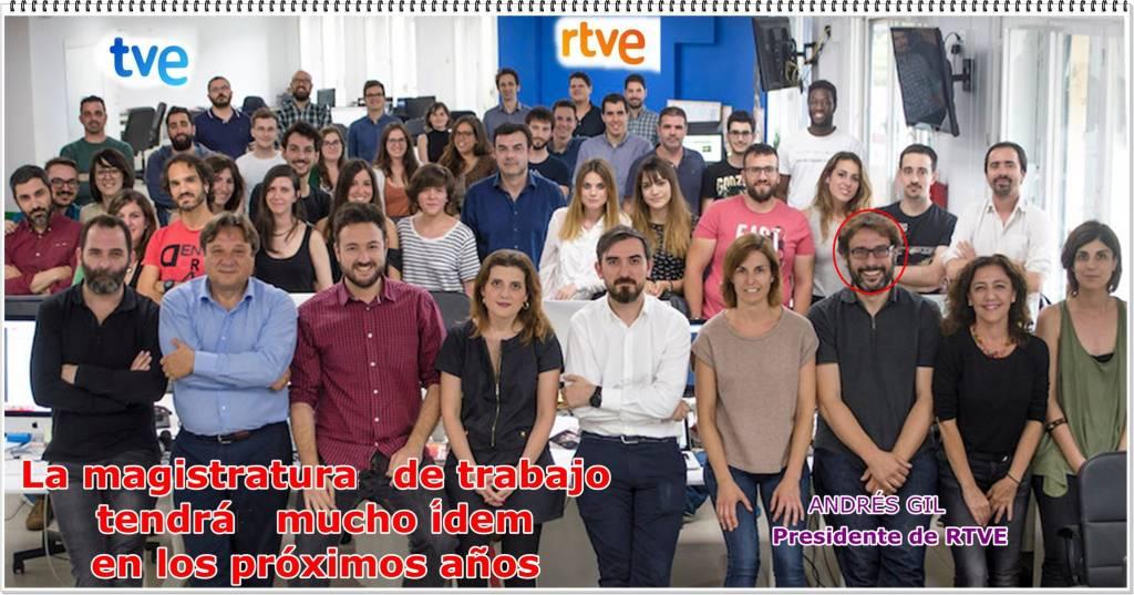 ante la pelea que mantienen PSOE-Podemos por controlar la RTVE, los de los viernes de negro, calladitos