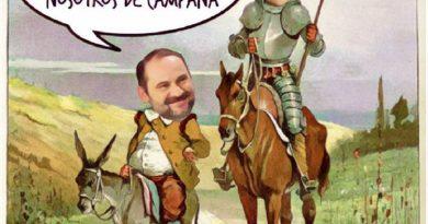 Hubo pifostio indepe en Barcelona durante un homenaje a Cervantes y estos de campaña, por Linda Galmor