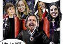 El Bazar del Mercachifle con las Estampas de Linda Galmor: A los líderes de la izquierda les gusta rodearse de churris
