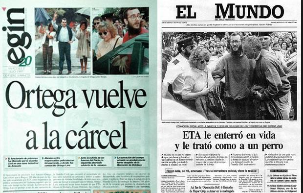 Aquellos días de julio. La liberación de Ortega Lara y el secuestro de Miguel Ángel Blanco