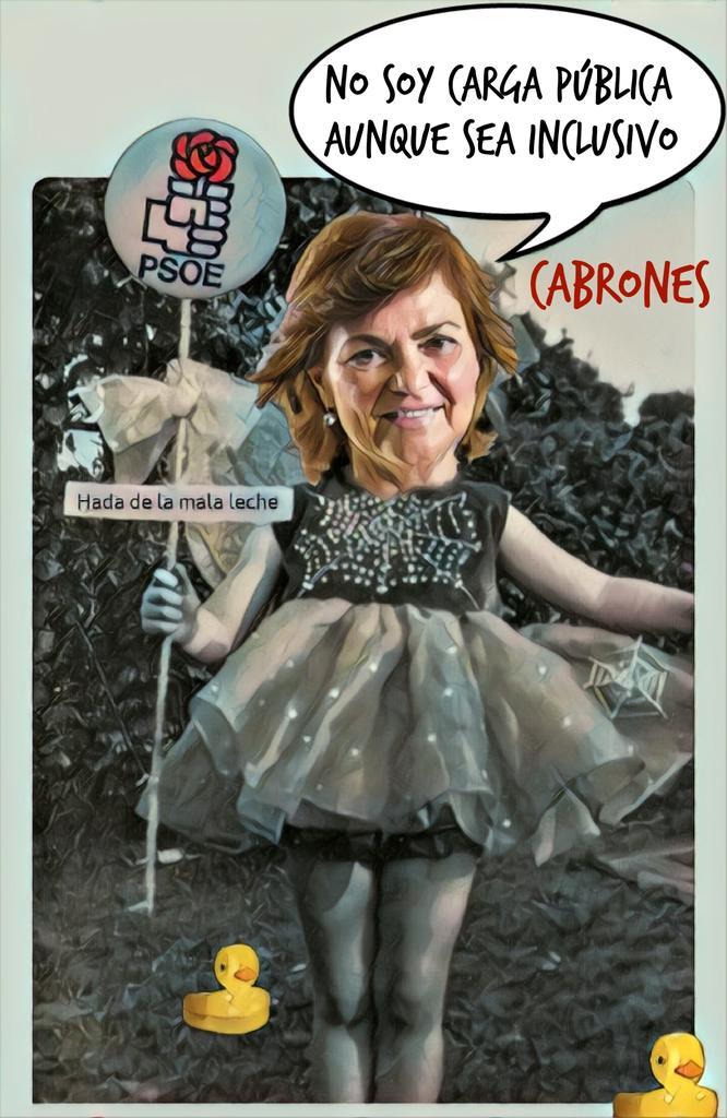 Carmen Calvo, socialismo de autor. Por Linda Galmor