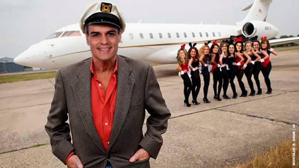 Críticas a Pedro Sánchez por usar el avión presidencial para acudir al concierto de 'The Killers'. Por Santi Orue