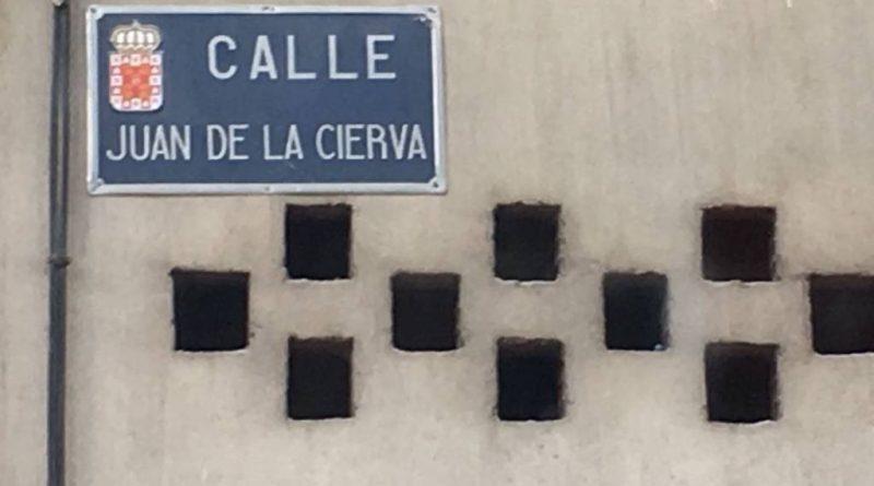 El ayuntamiento de Coslada hará desaparecer la calle con el nombre del inventor del autogiro Juan de La Cierva. El ayuntamiento de Murcia lo defenderá.