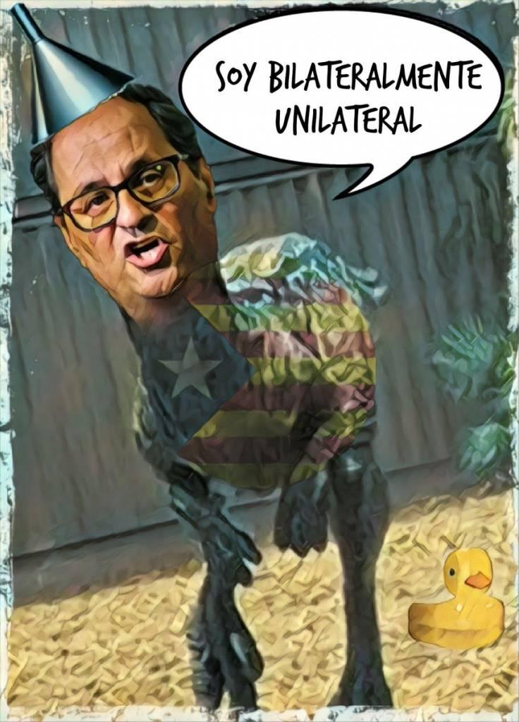 El juguete de Puchemón consigue su reunión bilateral Cataluña. Por Linda Galmor