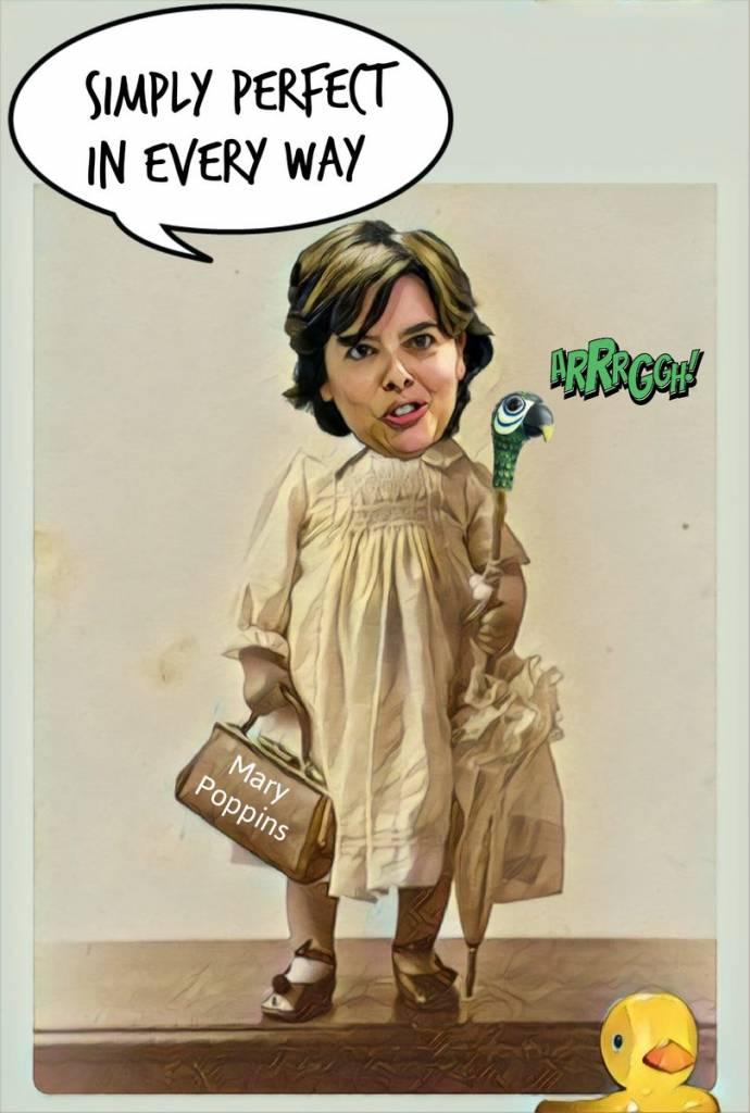 Hoy SoraYA se la juega en el el Congreso del PP. Linda Galmor