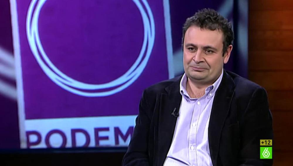 Ignacio Sánchez Cuenca visita 'El Intermedio'
