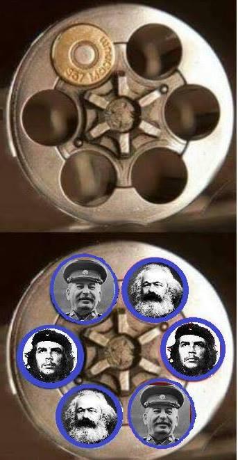 Tres asesinos, que mataron muchas personas, en su vida, con las armas, y con las ideas funestas,