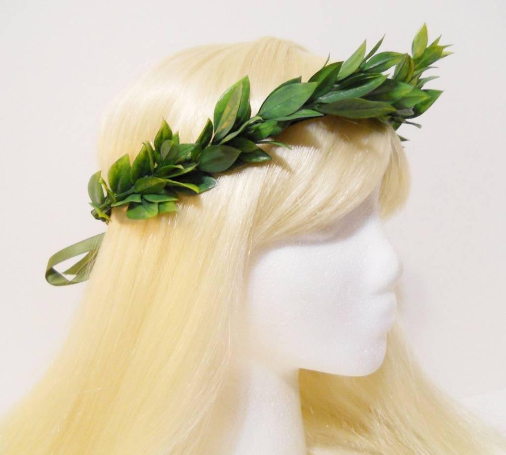 Unos amigos me plantan una coronita de laurel, virtual, monísima y me lanzo al espejo y pienso