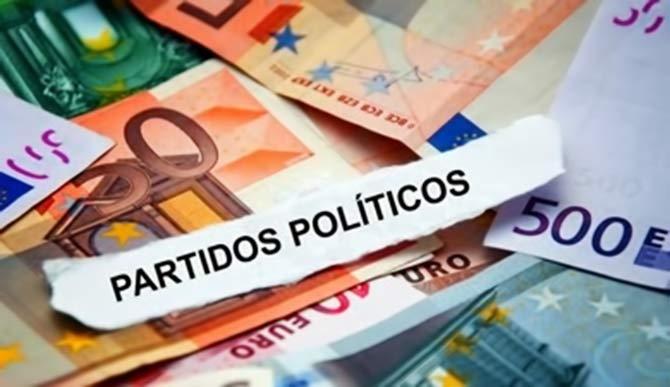 financiación de los Partidos