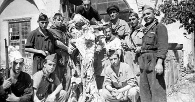 milicianos del Frente Popular fueron protagonistas de una exahustiva profanación de conventos e iglesias