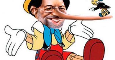 sólo puedo desearle la maldición de Pinocho