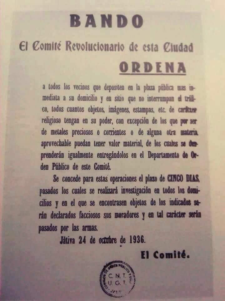 Bando del Comité revoucionario
