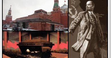 El mausoleo de Lenin en la Plaza Roja de Moscú