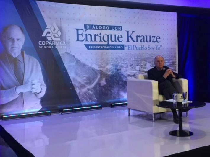 Enrique Krauze habla sobre el populismo y sus efectos