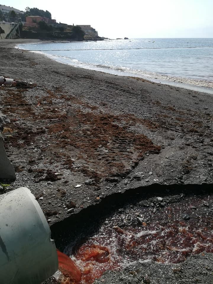 Esta es la playa de La Almadraba en Ceuta