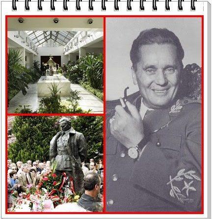 La Casa de las Flores, el nombre popular del Mausoleo de Tito (dictador de la antigua República de Yugoslavia)
