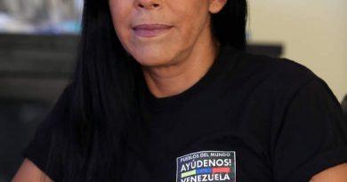 Patricia Carrera: Mientras el pueblo venezolano no sea libre del criminal Socialismo del siglo XXI, yo seguiré intentando que lo sea