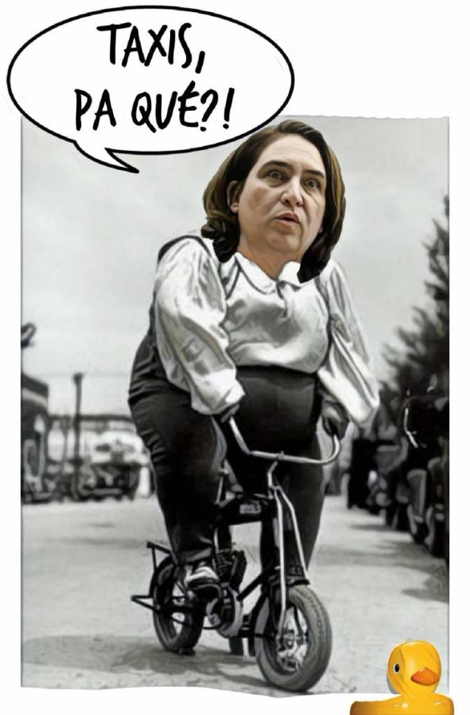 Los perrosflautas, esos que sólo usan la bici o el coche oficial,¿ apoyan al taxi?. Por Lindan Galmor