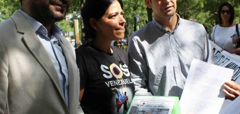 Patricia Carrera SOS Venezuela