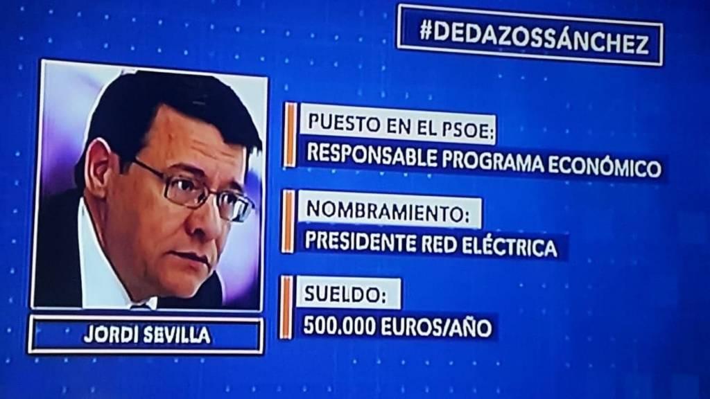 Pedro Sánchez, Agencia de empleo. Jordi Sevilla