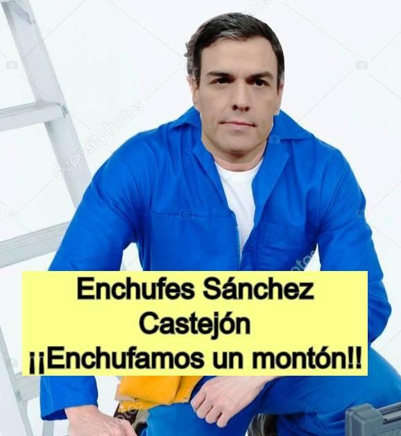 Sánchez tiene un séquito de asesores enchufados mayor que el de cualquiera de sus antecesores en La Moncloa... ¿Será que es más torpe que Zapatero...? Por Juan Padrón Sabina