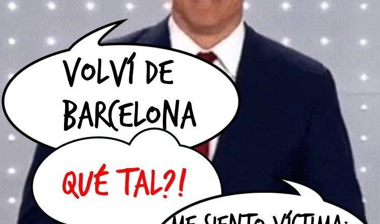 Sí, salió poco en la tele: viajar tan lejos desde Doñana... pa ná! Ilustración de Linda Galmor