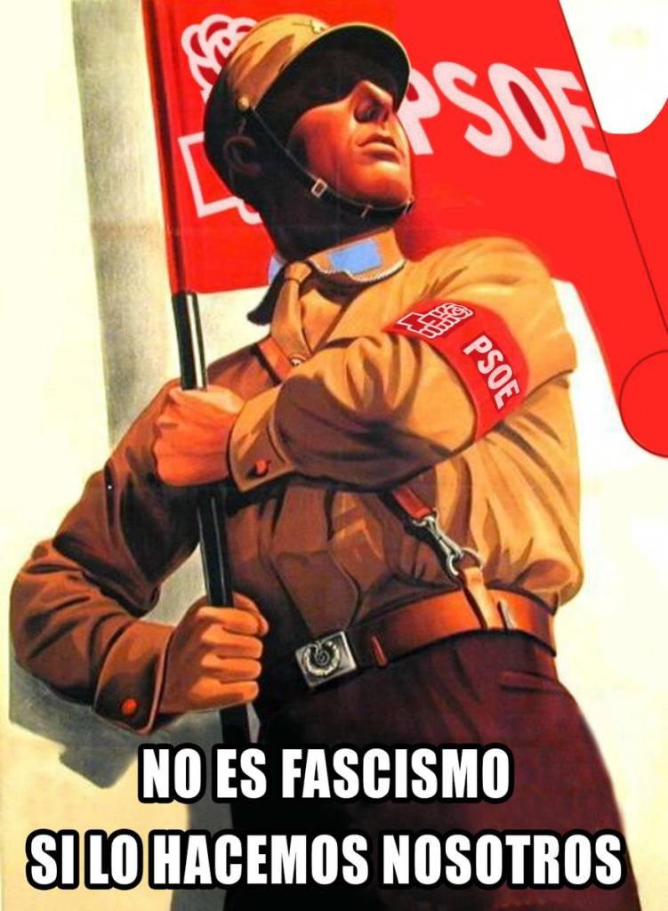 Si os llaman fascistas, será porque como dice el refrán ladran luego cabalgamos