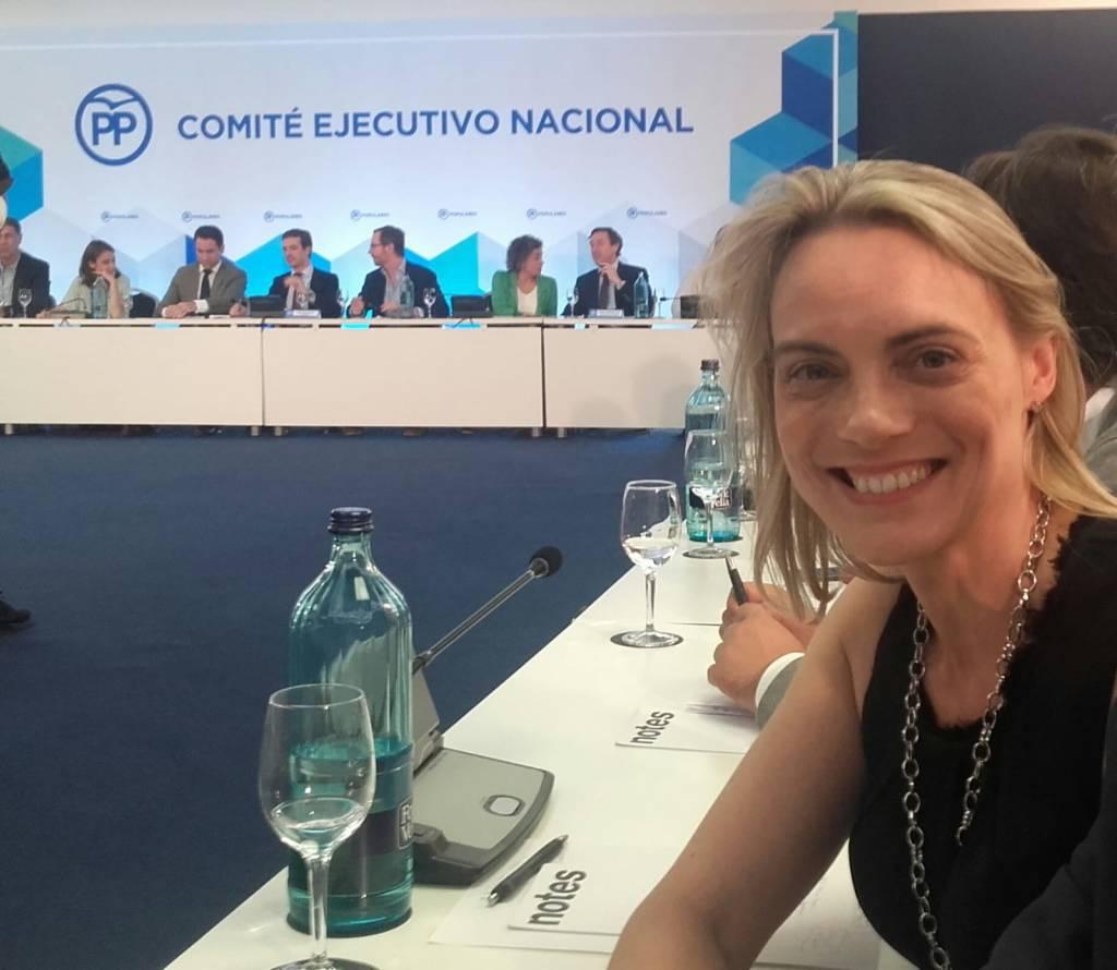Raquel González es una de las figuras potentes de la nueva ejecutiva nacional del PP
