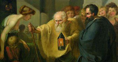 Decía el cínico Diógenes, que paseaba por la calle con una vela a la luz del día, que buscaba un hombre.