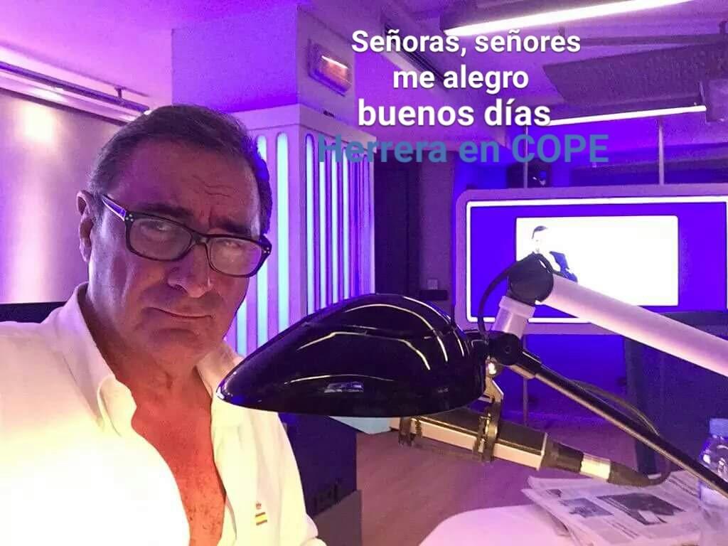 Herrera en la Cope de Carlos Herrera