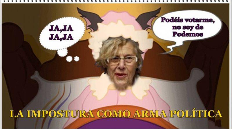 LA IMPOSTURA COMO ARMA POLÍTICA