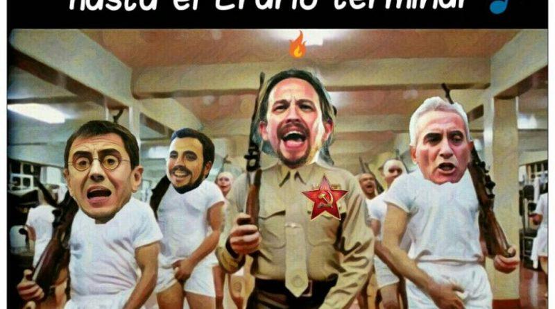 PabLenin se reúne con los suyos para comentar los acuerdos con Sánchez