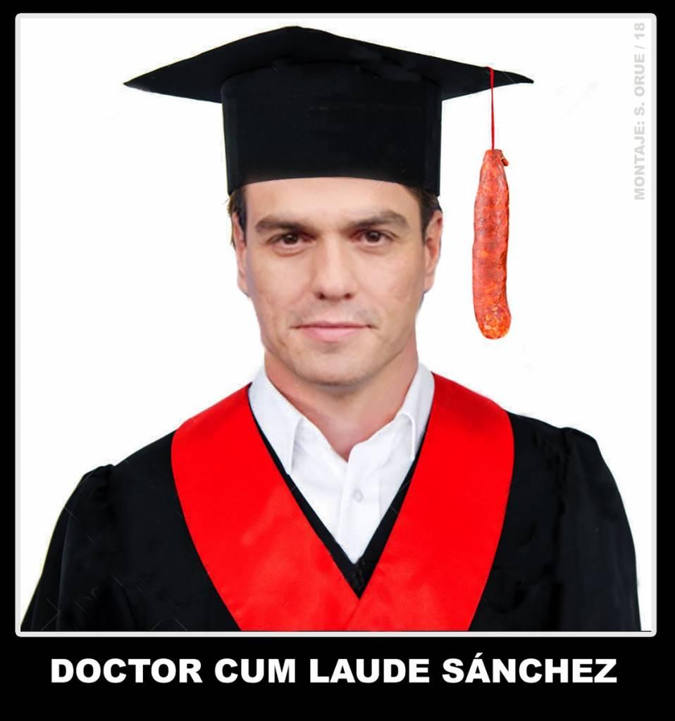 Rivera lleva al Congreso las dudas sobre la tesis doctoral de Sánchez. Santi Orue