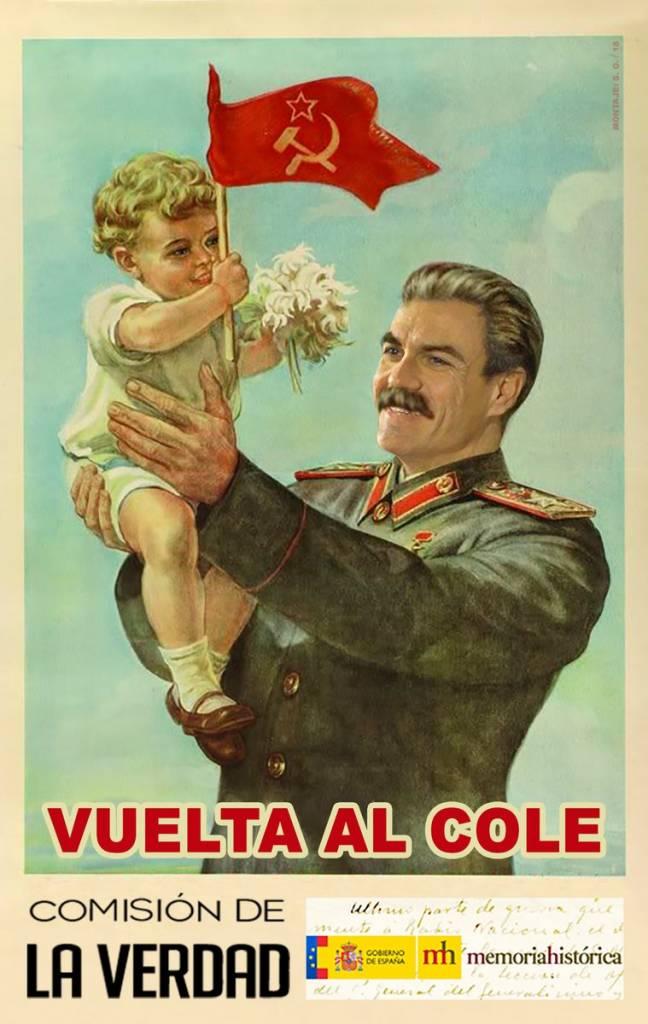 Sánchez quiere crear una 'comisión de la verdad' sobre la Guerra Civil. Por Santi Orue