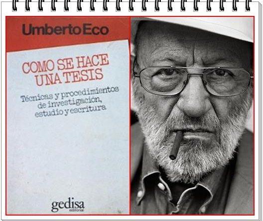 Todo está en los libros: El maestro Umberto Eco y la tesis de Sánchez. Por Rafael Gómez de Marcos - La Paseata