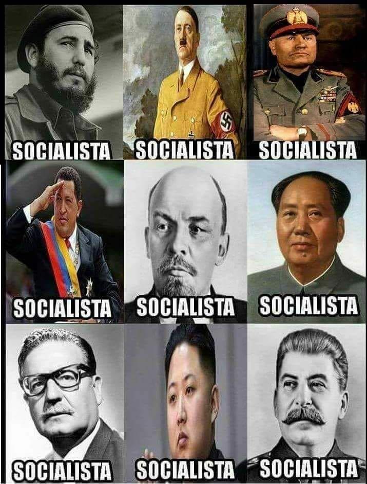 Los rostros del socialismo hoy no tienen cabida en nuestra sociedad moderna